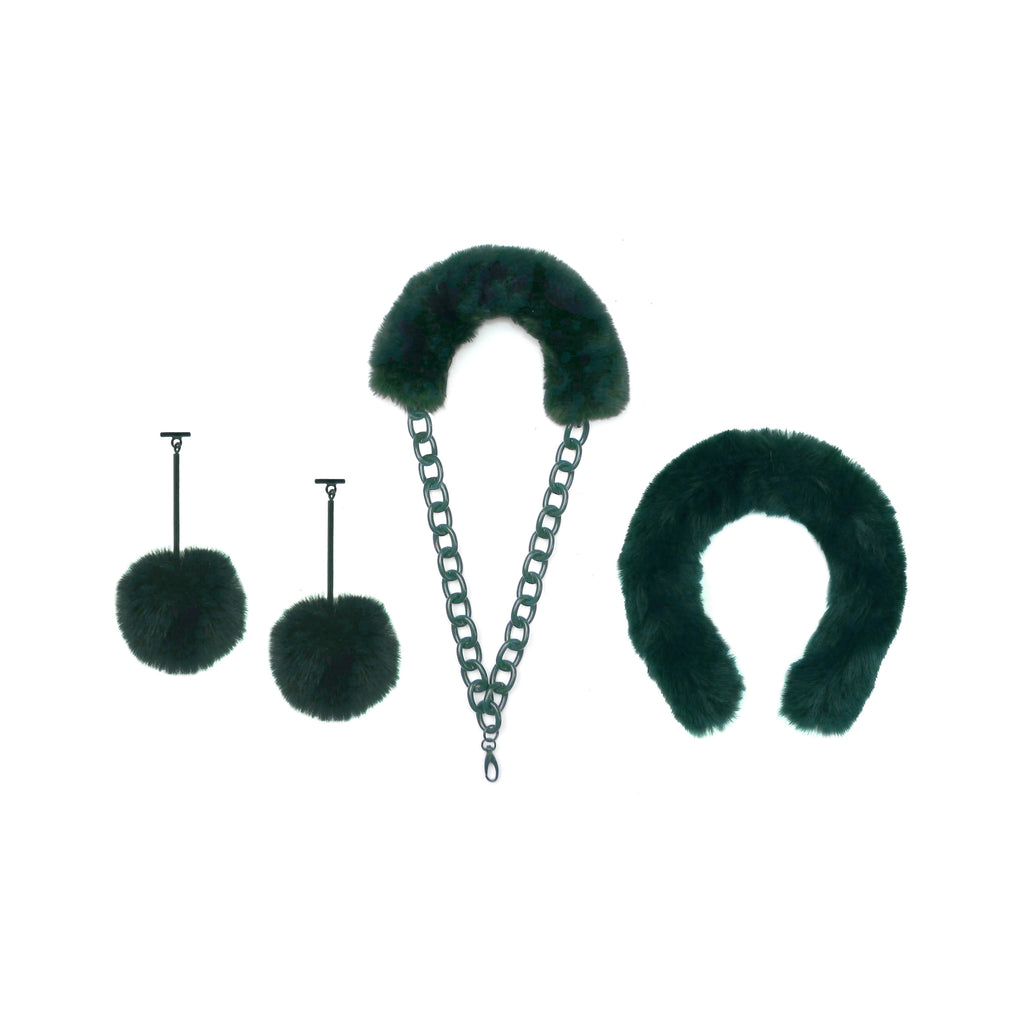 PARTY OF THREE | Green Monochromatic Set, Set, Tuleste, Tuleste