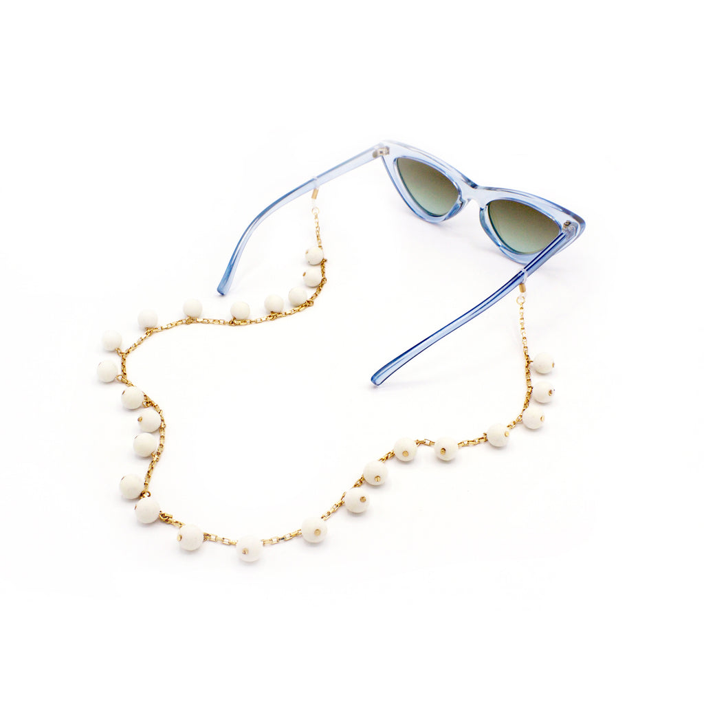 Pom Pom Eyewear Chain, Glasses Chains, Tuleste, Tuleste
