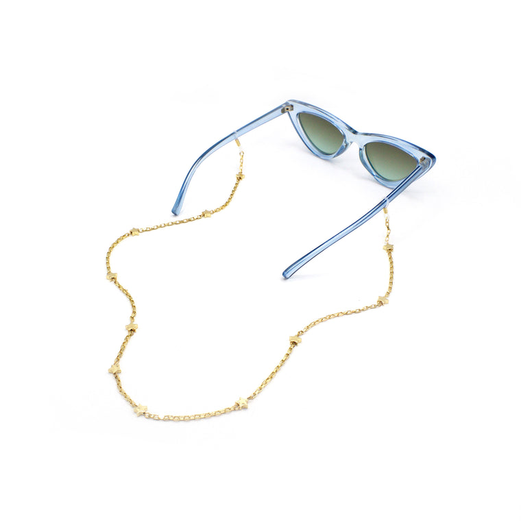 Delicate Star Eyewear Chain, Glasses Chains, Tuleste, Tuleste