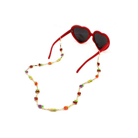 Delicate Fruit Eyewear Chain, Glasses Chains, Tuleste, Tuleste