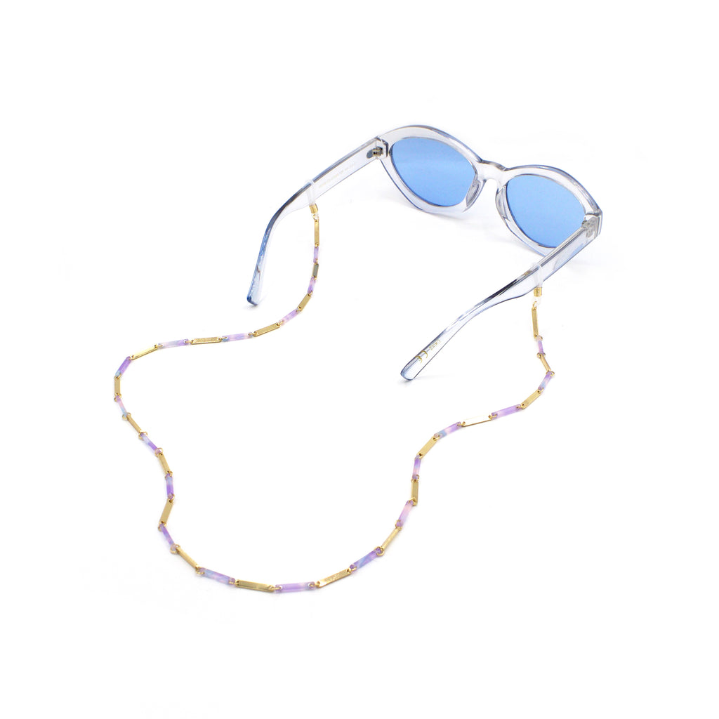 Resin & Bar Eyewear Chain, Glasses Chains, Tuleste, Tuleste