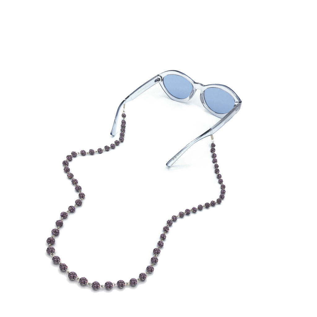 Crystal Ball Eyewear Chain, Glasses Chains, Tuleste, Tuleste