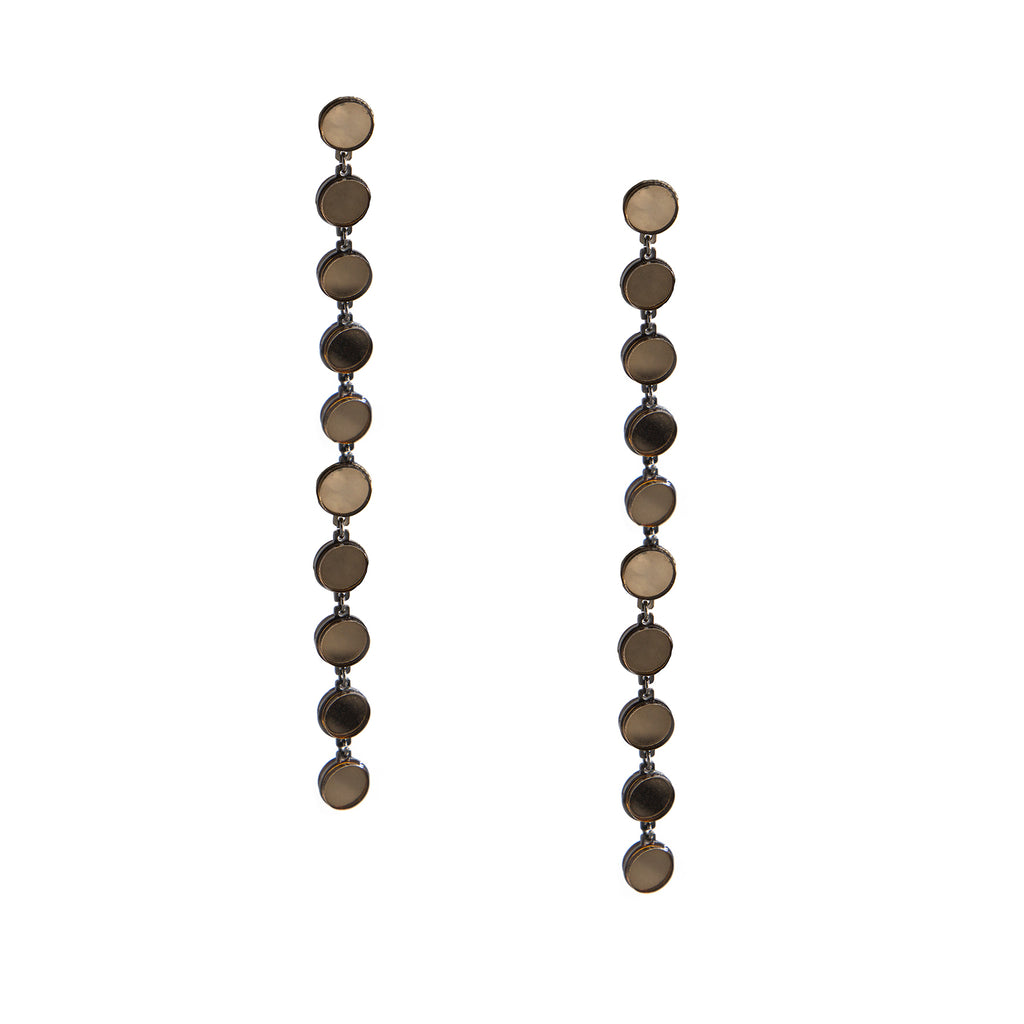Mirror Long Drop Earrings, earring, Tuleste, Tuleste