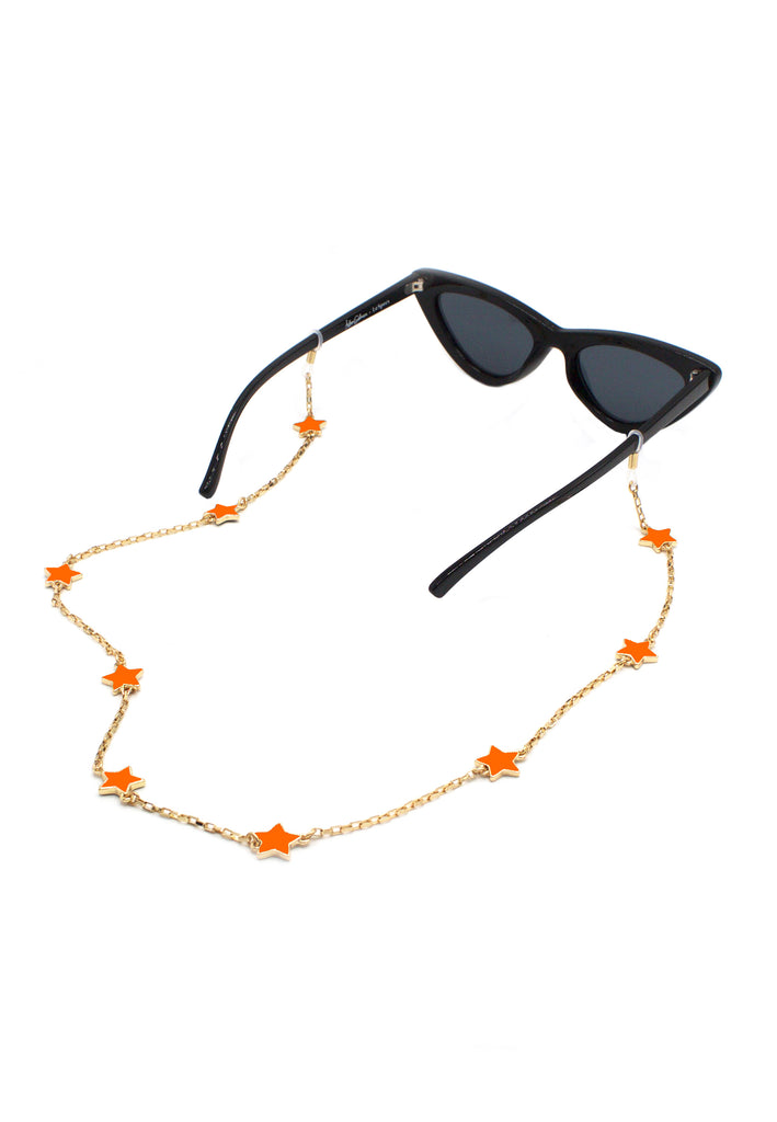Enamel Heart Eyewear Chain, Glasses Chains, Tuleste, Tuleste