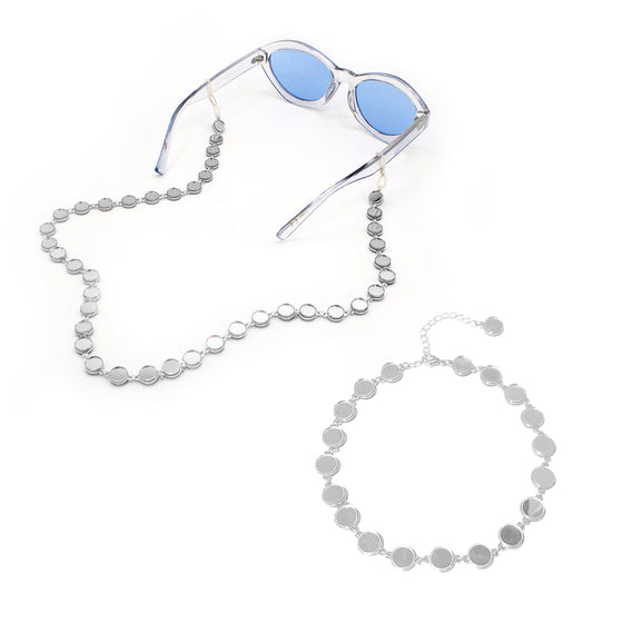 Mirror Choker and Mirror Eyewear Chain Bundle