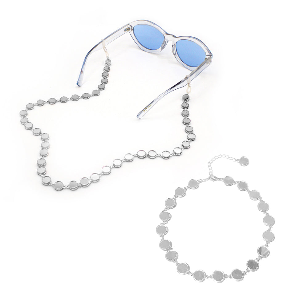 Mirror Choker and Mirror Eyewear Chain Set, Bundle, Tuleste, Tuleste