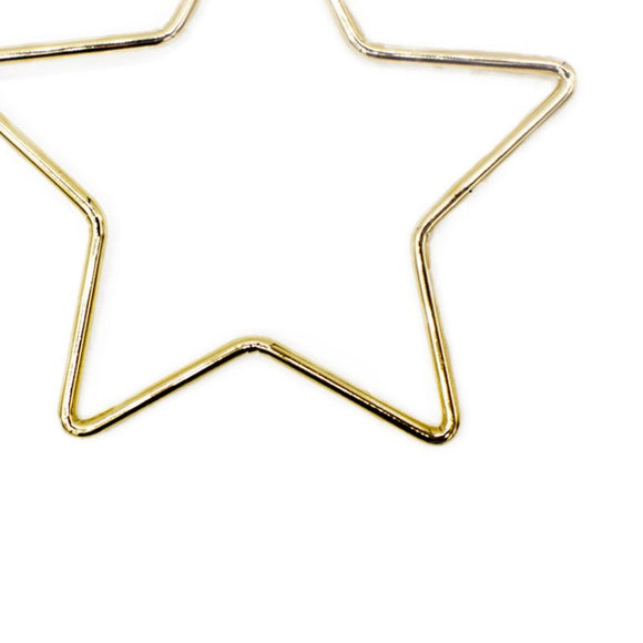 Large Star Earrings, earring, Tuleste, Tuleste