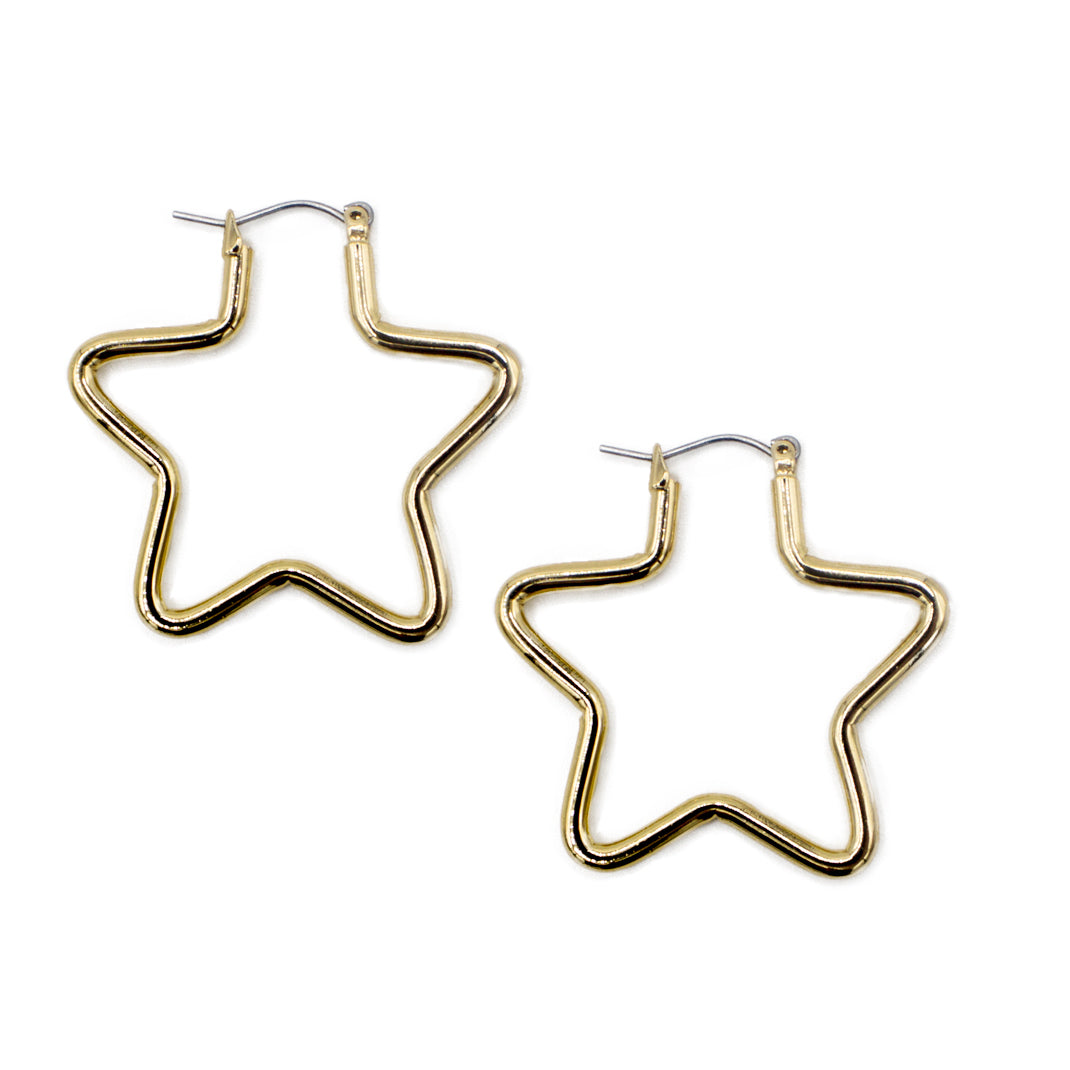 Small Star Earrings, earring, Tuleste, Tuleste