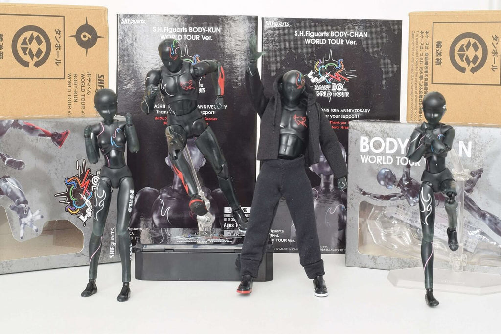 body kun world tour limited black edition