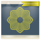 Al Hujurat ayat 18 eight petals star islamic wall sticker