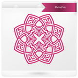 Alhamdulillah Floral Kufic islamic wall sticker