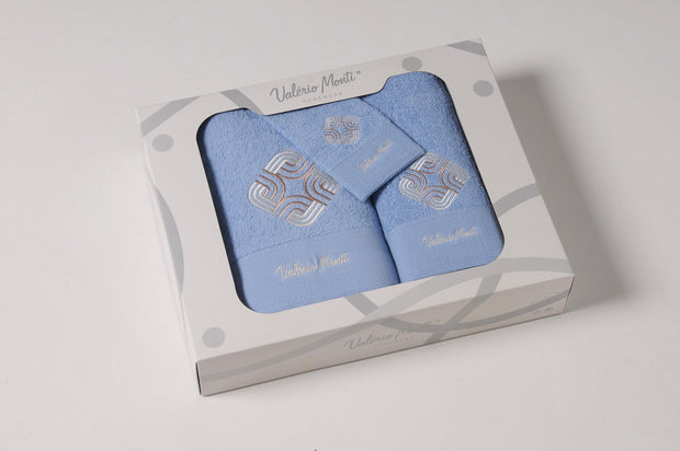 Bath Towels 3pcs Set VM in Box Ref. Mapa
