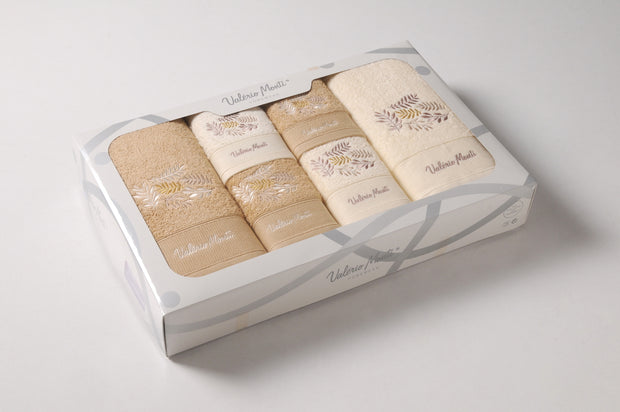 Bath Towels 6pcs Set VM in Box Ref. Bolero