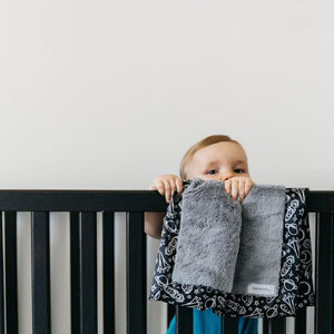 Launch Day Satin Border Toddler To Teen Blanket