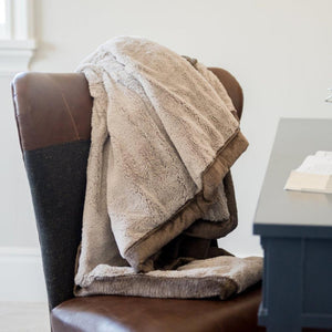 Feather Umber Lush Blanket