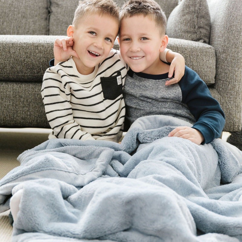 Storm Cloud Lush Toddler to Teen Blanket