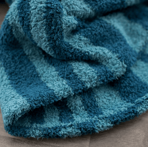 Blue Lagoon Double-Layer Bamboni Receiving Blanket
