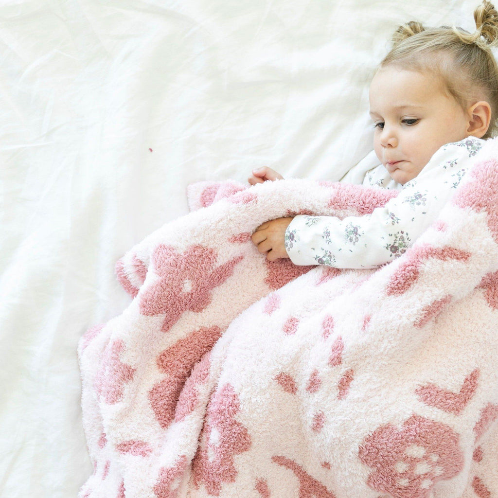 Petal Double-Layer Bamboni Toddler Blanket