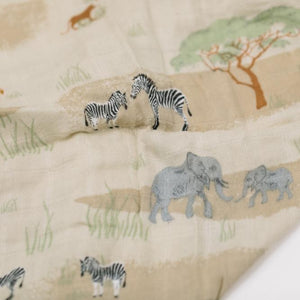 The Savannah Rayon Muslin Swaddle