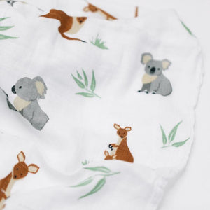 The Down Under Bamboo Rayon Muslin Swaddle