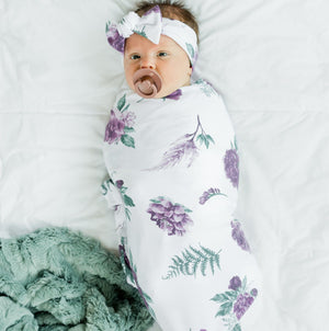 Classic Floral Stretchy Swaddle