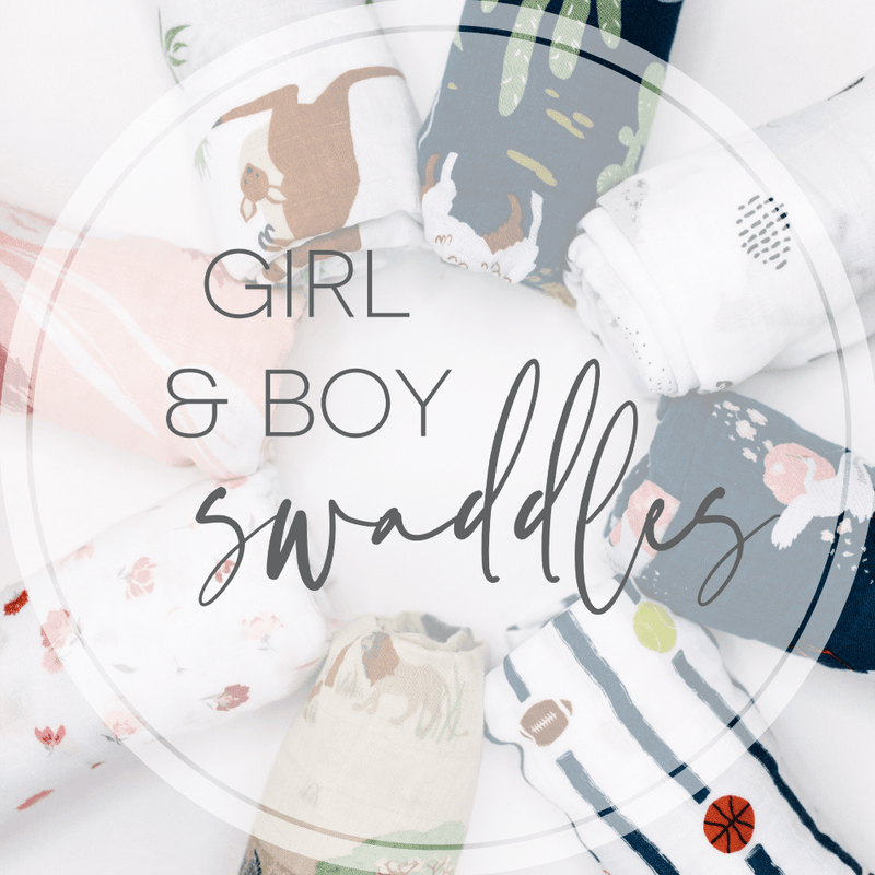 Girl Muslin Swaddle Grab Bag