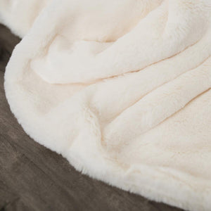 Arctic Hare Grand Faux Fur Extra Large Throw Blanket