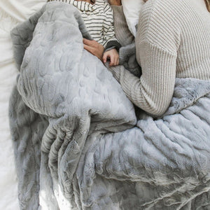 Gray Throw Blanket