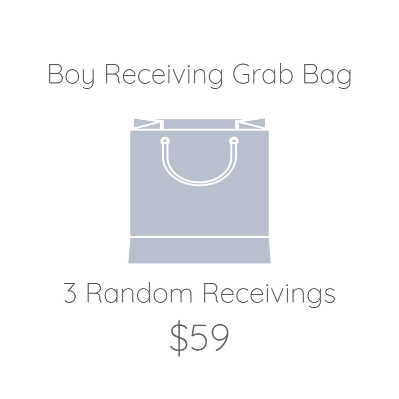 Boy Receiving Grab Bag