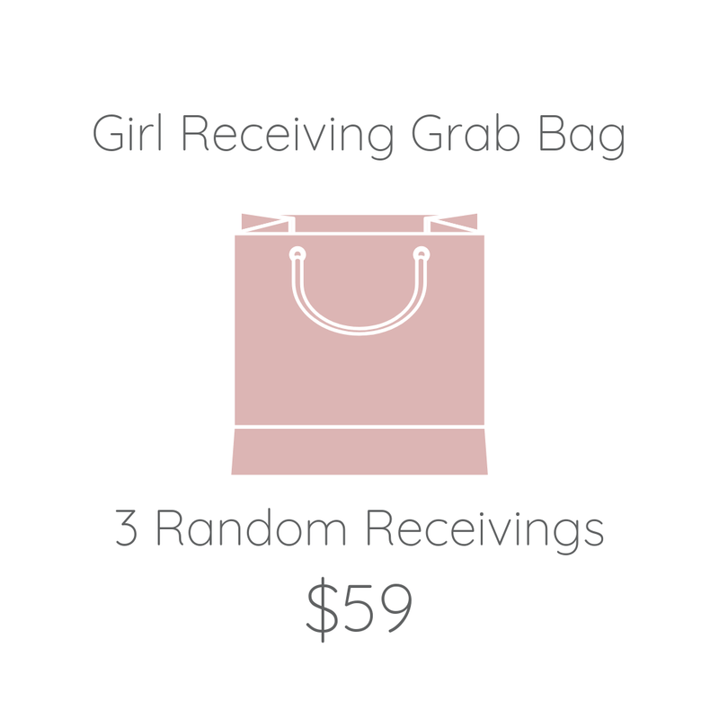 Girl Receiving Grab Bag