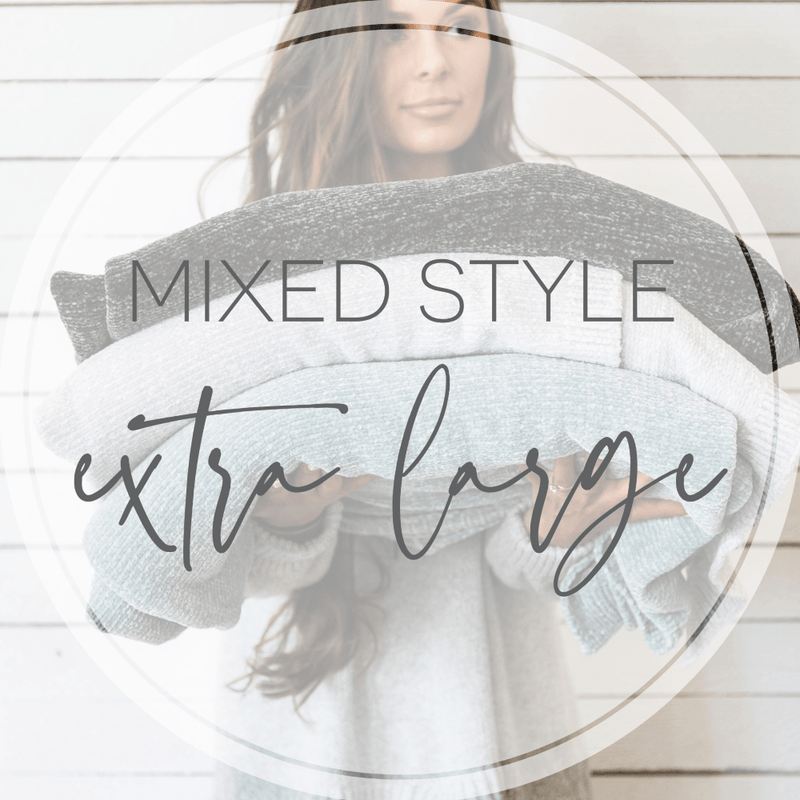 Extra Large Throw Mixed Styles Grab Bag