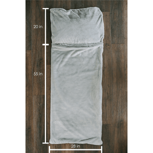 Chinchilla Grand Faux Fur Sleeping Bag