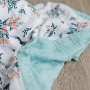Meadowlark 4-Layer Muslin Quilt