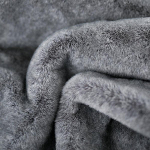 Chinchilla Saranoni Grand Faux Fur King Size Blanket