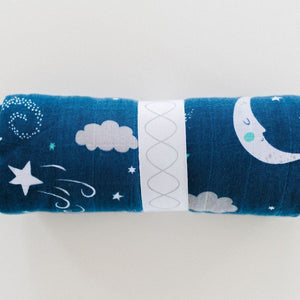 Starry Night Bamboo Rayon Muslin Swaddle