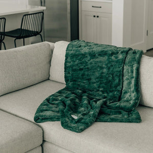 Forest Lush Extra Large Throw Blanket