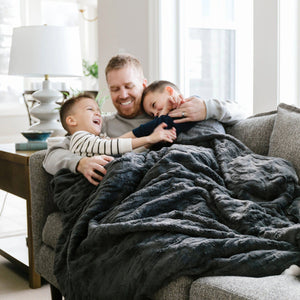 Charcoal Extra Large Weighted Blanket