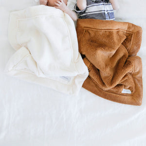 Camel Lush Mini Blanket