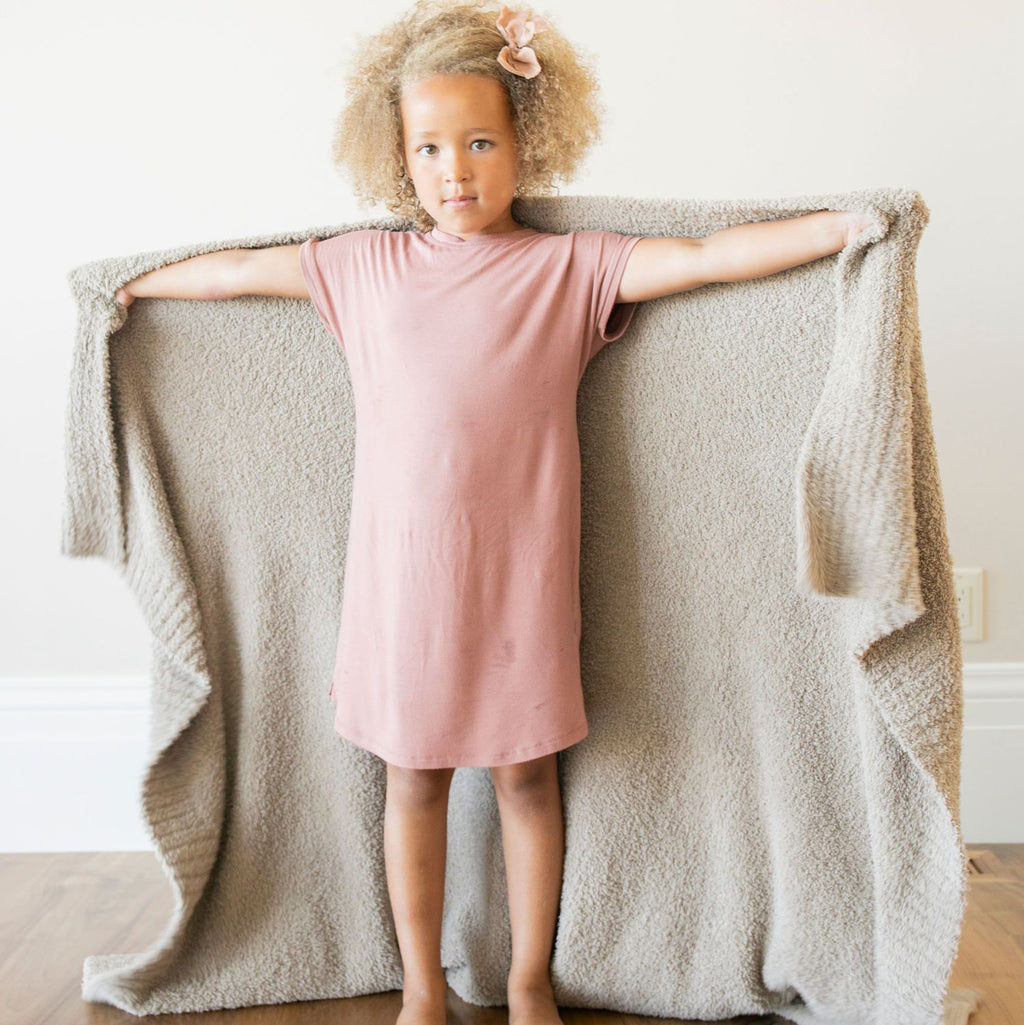 Taupe Bamboni Toddler to Teen Blanket