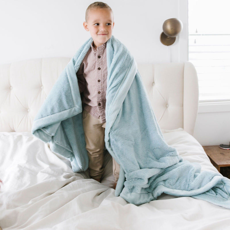 Dew Lush Toddler Blanket