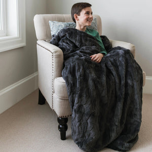 Charcoal Throw Weighted Blanket