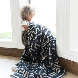 Mudcloth Double-Layer Bamboni Extra Large Blanket