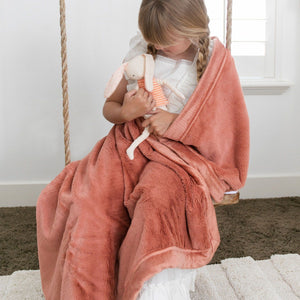 Clay Toddler Lush Blanket