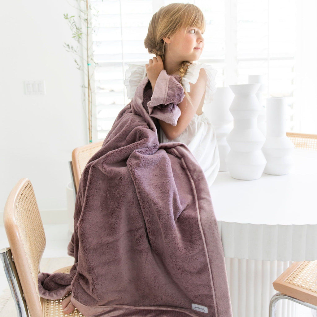 **Second Quality** Bloom Toddler Lush Blanket