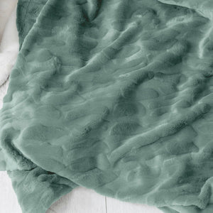 Eucalyptus Extra Large Throw Blanket