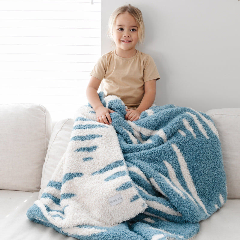 Triangle Double-Layer Bamboni Toddler Blanket