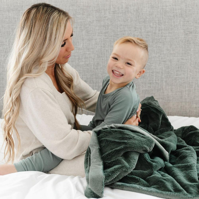 Hunter Lush Toddler Blanket