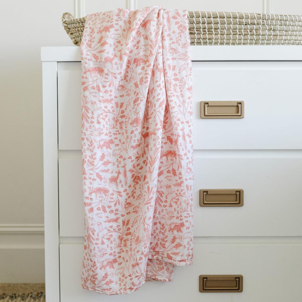 By Hope Wildwood Bamboo Rayon Muslin Swaddle