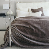 Timberwolf Saranoni Grand Faux Fur Blankets