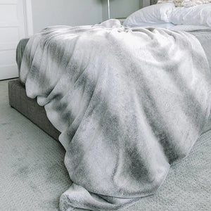 Snow Fox Grand Faux Fur Extra Large Throw Blanket
